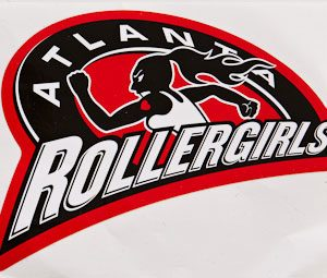Atlanta Rollergirls sticker