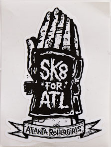 Sk8 for ATL sticker
