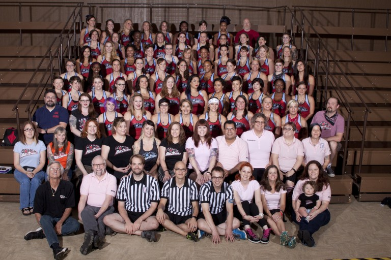 Atlanta Rollergirls League Photo, 2015